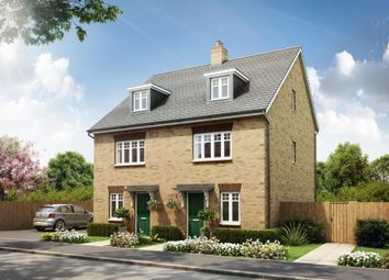 "Thumbnail 3 bed end terrace house for sale in ""Queensville"" at Southern Cross, Wixams, Bedford"