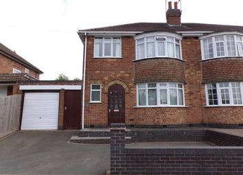 Thumbnail 3 bed semi-detached house for sale in Kingsway North, Braunstone Town, Leicester, Leicestershire