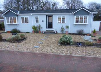 Thumbnail 2 bed mobile/park home for sale in Shirmart Park, Halsinger, Baunton, Devon