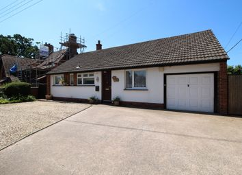 Thumbnail 3 bed detached bungalow for sale in Exmouth Road, Exton, Exeter