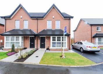 Thumbnail 3 bedroom semi-detached house for sale in Millmount Village Park, Dundonald, Belfast