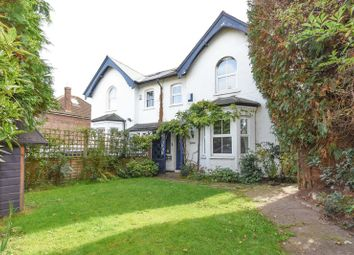 Thumbnail 4 bed semi-detached house to rent in Hersham Road, Hersham, Walton-On-Thames