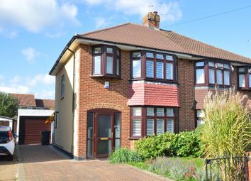 Thumbnail 3 bed semi-detached house for sale in Cheshire Gardens, Chessington, Surrey.