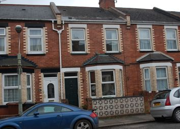 Thumbnail 2 bed terraced house to rent in Churchill Road, Exeter