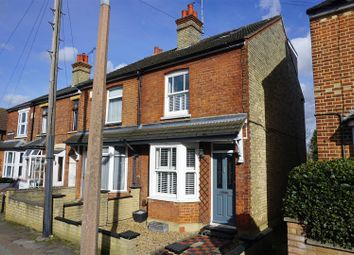 Thumbnail 3 bedroom end terrace house for sale in Brampton Park Road, Hitchin