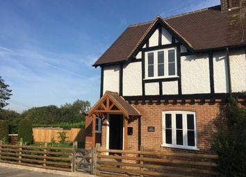 Thumbnail 2 bed semi-detached house to rent in Toms Hill, Aldbury, Tring
