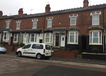 Thumbnail 2 bed terraced house for sale in Ashley Road, Erdington, Birmingham