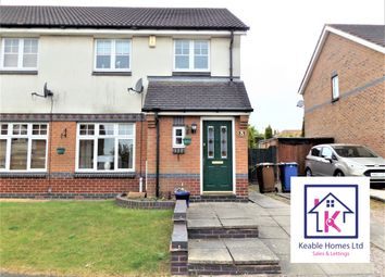 Thumbnail 3 bed semi-detached house to rent in Foxes Rake, Cannock