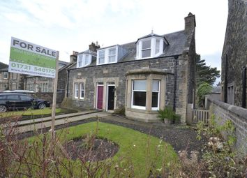 Thumbnail 3 bed property for sale in Alexander Cottage, 21 March Street, Peebles
