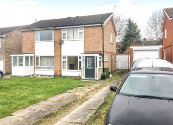 Thumbnail 2 bed semi-detached house for sale in Windrush Drive, Oadby, Leicester, Leicestershire