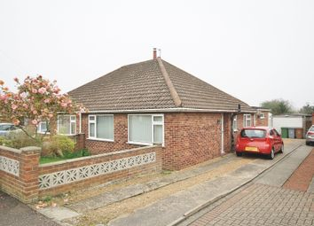 Thumbnail 1 bed semi-detached bungalow to rent in Lone Barn Road, Sprowston, Norwich