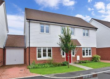 Thumbnail 4 bed link-detached house for sale in Belle View Close, New Romney, Kent