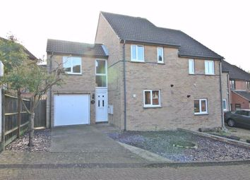 Thumbnail 3 bed semi-detached house to rent in Robertson Close, Shenley Church End, Milton Keynes