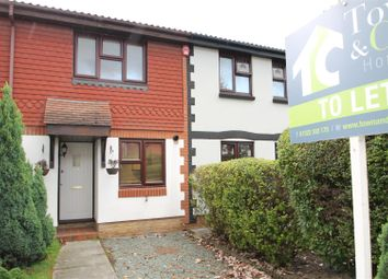 Thumbnail 2 bed terraced house to rent in Smugglers Walk, Greenhithe