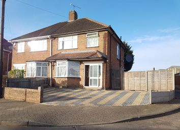 Thumbnail 3 bedroom semi-detached house for sale in Lydford Road, Barkby Road Area, Leicester