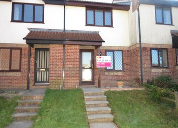 Thumbnail 2 bed terraced house for sale in Redwood Drive, Plympton, Plymouth