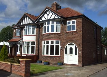 Thumbnail 3 bed semi-detached house to rent in 65 Queensgate, Northwich, Cheshire