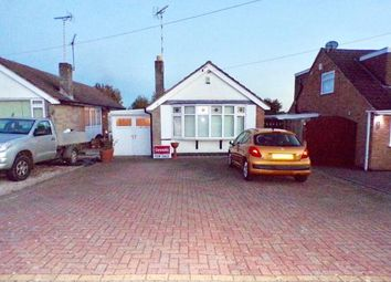 Thumbnail 2 bed bungalow for sale in Leighton Crescent, Elmesthorpe, Leicester, Leicestershire