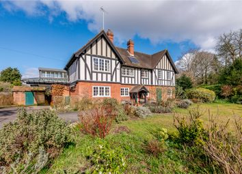 Thumbnail 4 bed detached house for sale in Frensham Road, Frensham, Farnham, Surrey