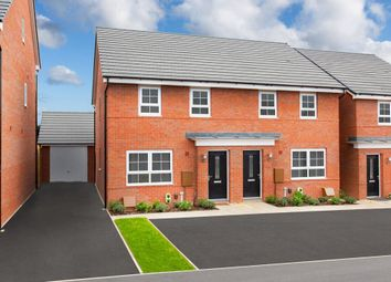 "Thumbnail 3 bedroom semi-detached house for sale in ""Maidstone"" at Harper Close, Warwick"