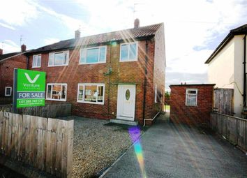 Thumbnail 3 bed semi-detached house for sale in Langdale Avenue, Crook, Co Durham