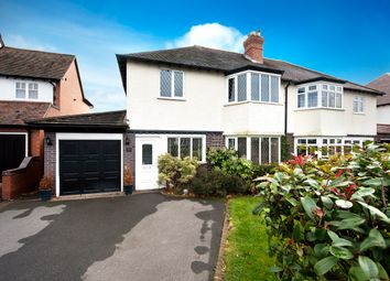 Thumbnail 4 bed semi-detached house for sale in Green Lanes, Wylde Green, Sutton Coldfield
