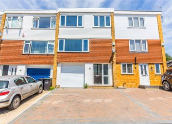 Thumbnail 4 bedroom terraced house for sale in Elmfield Close, Gravesend, Kent
