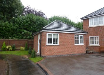 Thumbnail 1 bed bungalow to rent in Fludes Court, Oadby, Leicester