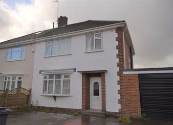 Thumbnail 3 bed semi-detached house to rent in Thirlmere Avenue, Noctorum, Prenton