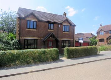 Thumbnail 4 bed detached house to rent in Plantation Place, Shenley Brook End, Milton Keynes
