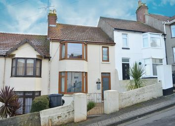 Thumbnail 3 bed terraced house for sale in Burridge Avenue, Chelston, Torquay