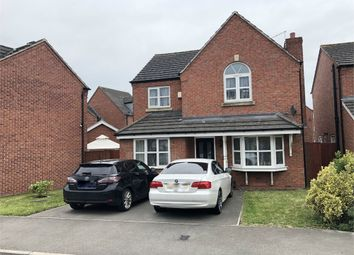 Thumbnail 4 bed detached house for sale in Blakeholme Court, Burton-On-Trent, Staffordshire