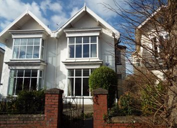 Thumbnail 5 bedroom semi-detached house for sale in 58 Eaton Crescent, Uplands, Swansea