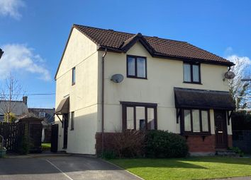 Thumbnail 2 bed semi-detached house for sale in Meadow Rise, St. Columb
