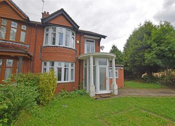 Thumbnail 3 bedroom semi-detached house for sale in Mauldeth Road, Burnage, Manchester