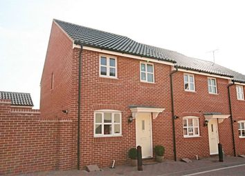 Thumbnail 3 bedroom end terrace house for sale in Ranulf Road, Flitch Green, Dunmow, Essex