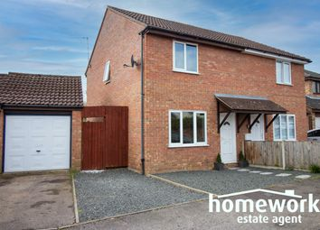 Thumbnail 3 bed semi-detached house for sale in Norman Close, Scarning