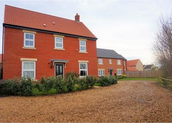 Thumbnail 4 bed detached house for sale in Towgood Close, Helpston