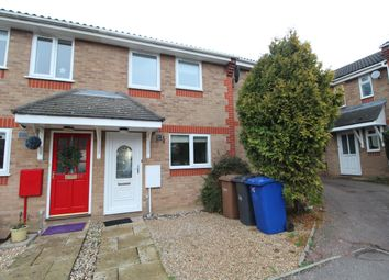 Thumbnail 2 bed terraced house to rent in Haselmere Close, Bury St. Edmunds