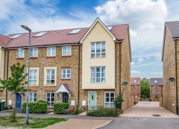 Thumbnail 3 bed town house for sale in Gwendoline Buck Drive, Aylesbury