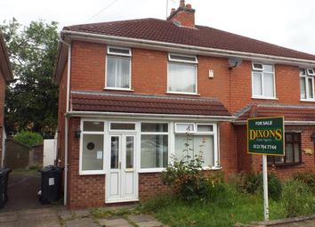 Thumbnail 3 bedroom semi-detached house for sale in Clements Road, Birmingham, West Midlands