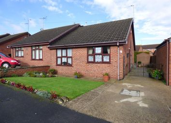 Thumbnail 2 bed semi-detached bungalow for sale in Buckingham Road, Louth