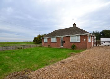 Thumbnail 3 bed detached bungalow to rent in Wisbech Road, Welney, Wisbech