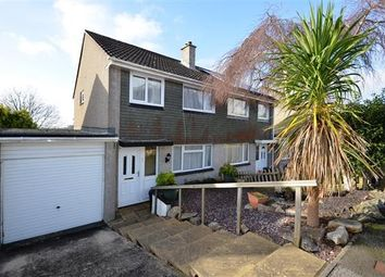 Thumbnail 3 bed semi-detached house for sale in Penarrow Close, Falmouth