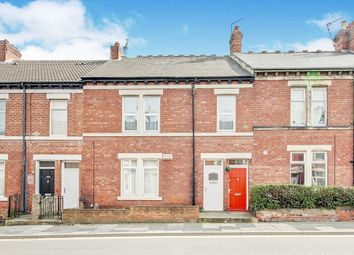 Thumbnail 3 bedroom flat for sale in Station Road, Wallsend