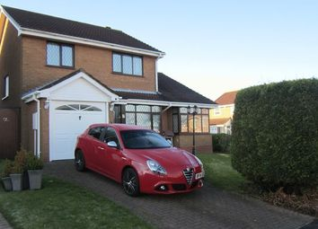 Thumbnail 4 bed detached house for sale in Beaumaris Close, Allesley Green, Coventry