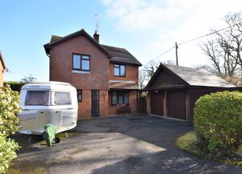 Thumbnail 4 bed detached house for sale in Binsted Road, Bucks Horn Oak, Farnham