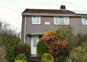 Thumbnail 3 bedroom semi-detached house for sale in Eiddwen Road, Swansea