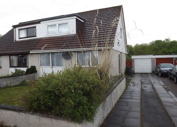 Thumbnail 4 bed semi-detached house for sale in Braeface, Alness