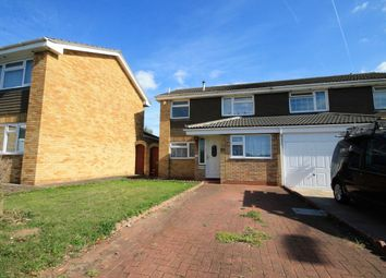 Thumbnail 4 bed semi-detached house to rent in Swanbourne Drive, Hornchurch